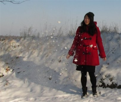 In this January snow
