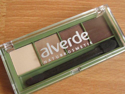 Alverde 37 Chocolate oogschaduwpalet