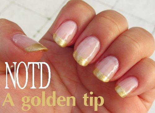 A golden tip3