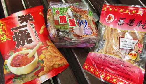 Aziatische snacks0