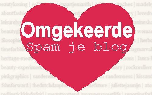 Omgekeerde spam je blog