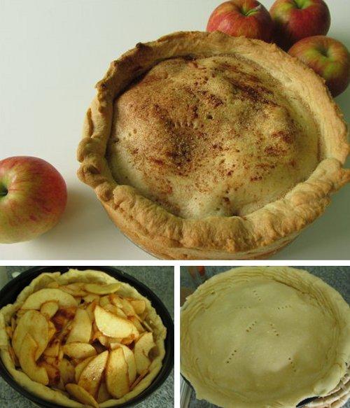 Sneeuwwitje appeltaart