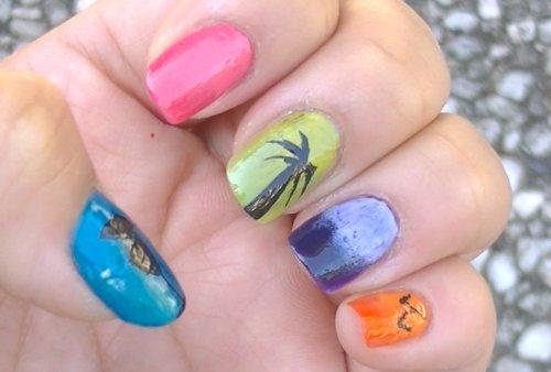 Tropical nails1