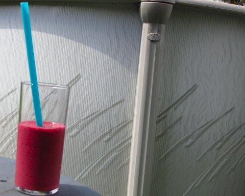 Rode vruchten milkshake3