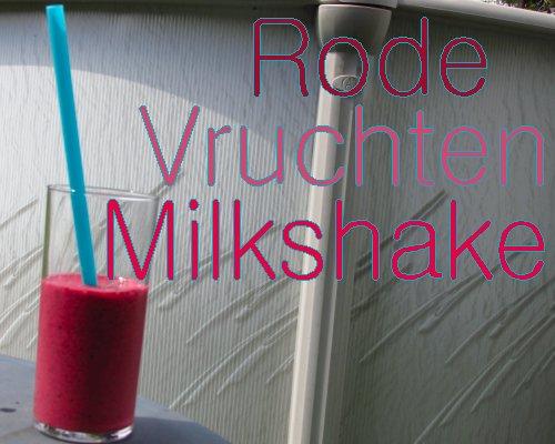 Rode vruchten milkshake4