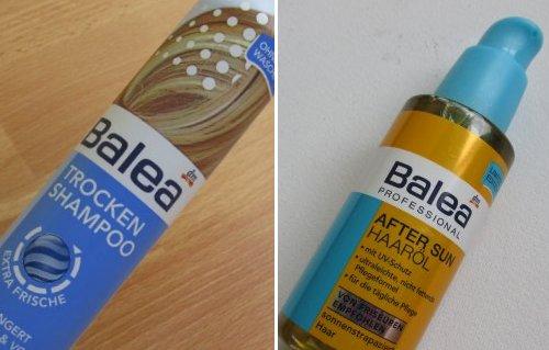 Balea droogshampoo+after sun haarolie