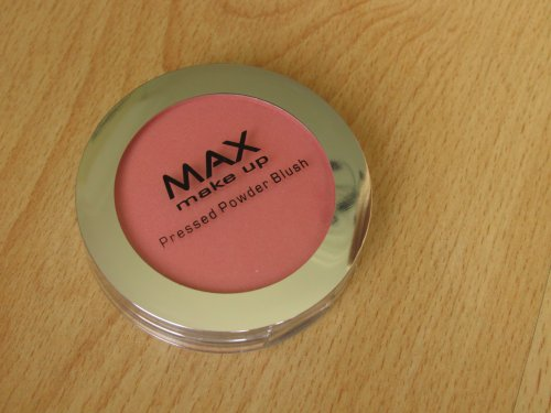 MAX make up pressed powder blush Rosewood