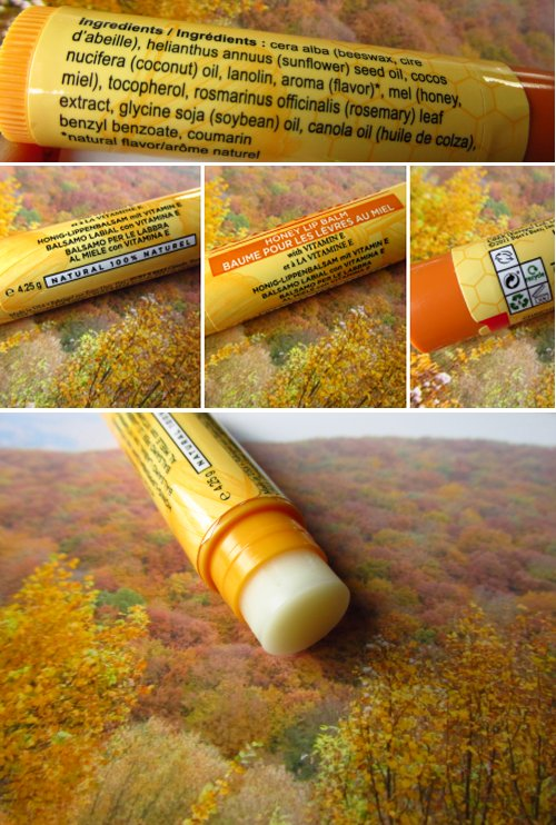 Burt´s Bees Honey lip balm2