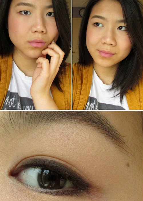 Simple brown look