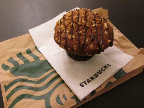 Starbucks muffin haselnut