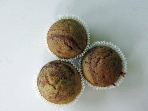 Marmeren muffins