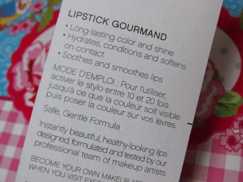 Luscious liquid lipstick Cherry tart3
