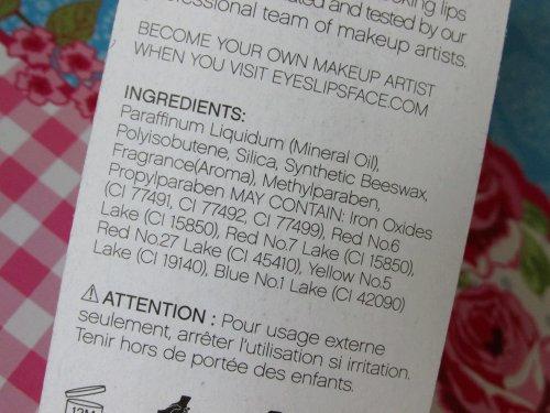 Luscious liquid lipstick Cherry tart4