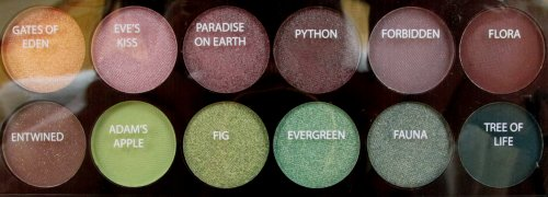 Sleek Garden of Eden palette5a