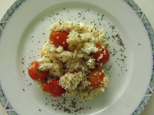 Couscous met kerstomaten en feta1