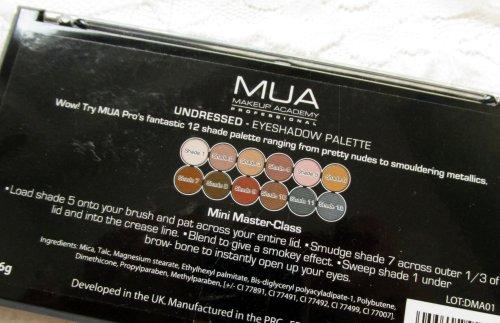 MUA palette Undressed4