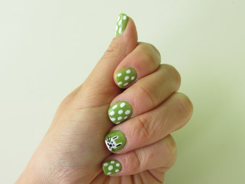 Nailtutorial Easter nails 2