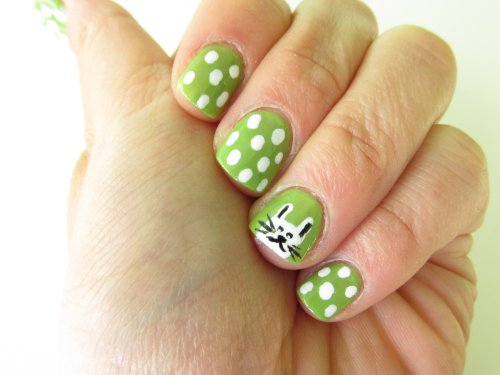 Nailtutorial Easter nails 21