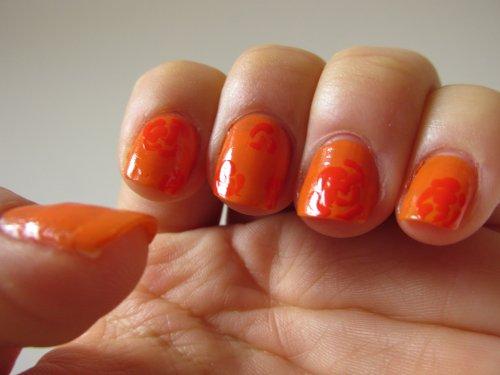 Orange flowers1