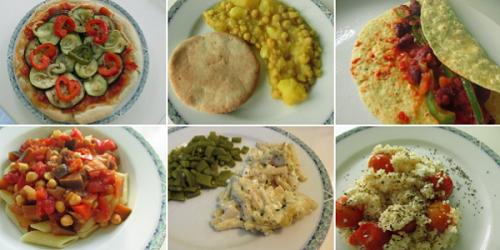 Vegetarische maaltijden1