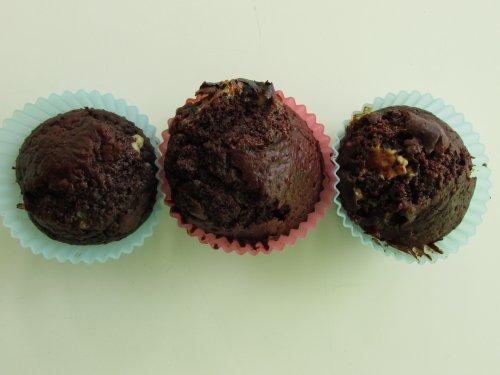 Chocolade marshmallow muffins (3)