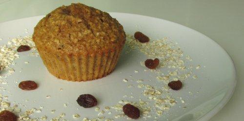 Havermout rozijnen muffins1