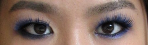 Max&More Party lashes4 blue eyelashes2