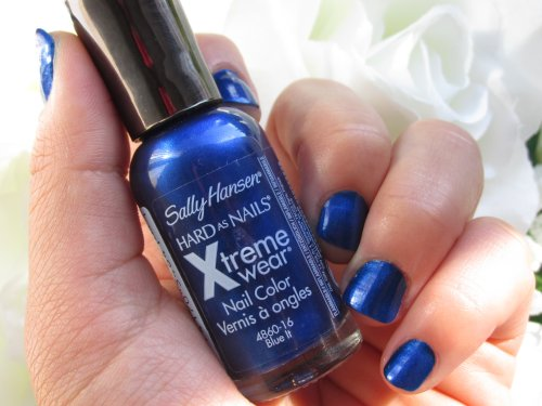 Sally Hansen Hard as nails Bleu it