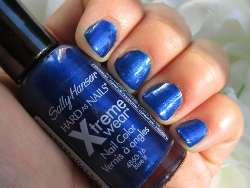 Sally Hansen Hard as nails Bleu it4