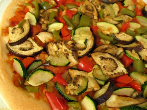 Vegetarische pizza (1)