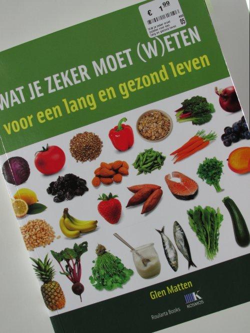 Wat je zeker moet (w)eten voor een lang en gezond leven1