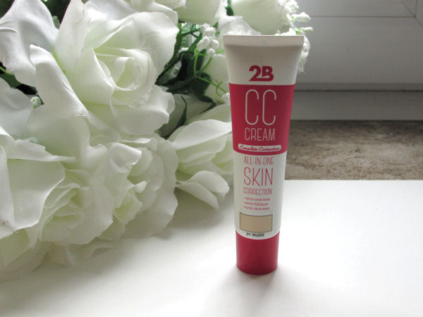 2B CC cream All-in-one skin correction 01 Nude2