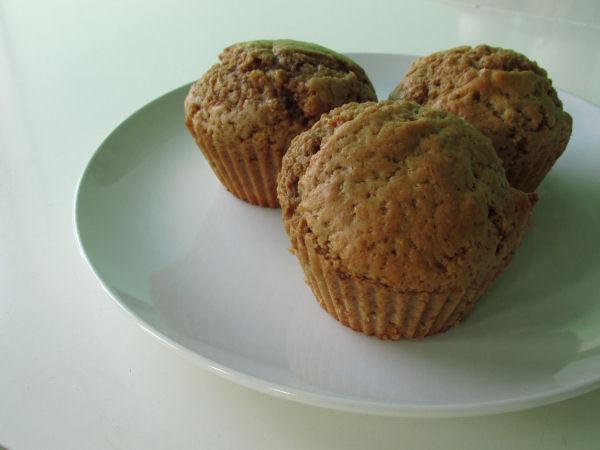 Pumpkin spice muffins2