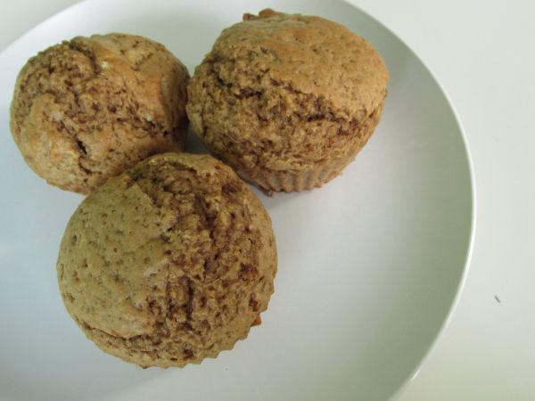 Pumpkin spice muffins3