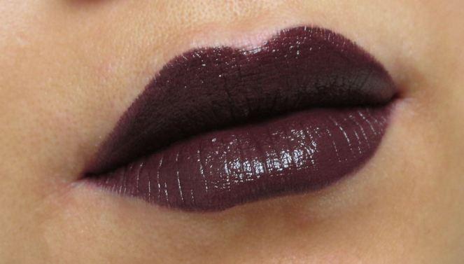 KIKO Luxurious Lipstick Cherry Black (4)