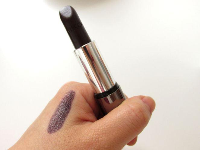 KIKO Luxurious Lipstick Cherry Black (5)