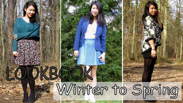 Lookbook Winter to Spring