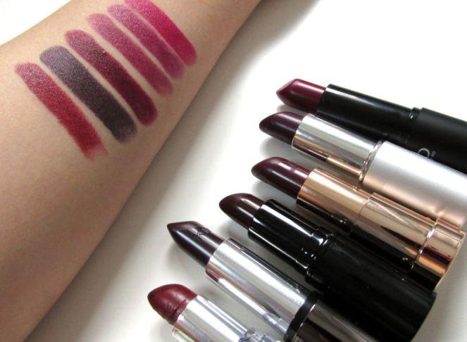 Dark lipsticks (3)