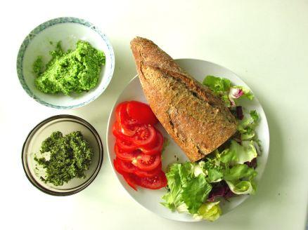 Vegetarische Lunch