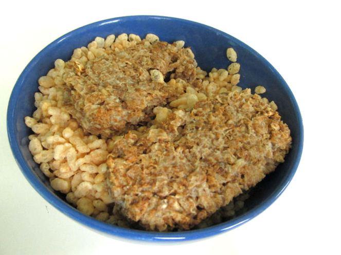 Weetabix met rice krispies