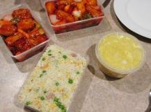 Chinese Take-away: zeer lekkere diepgefrituurde tofu in zoetzure saus