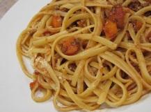 Spaghetti van linguini