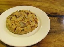 Salted Caramel cookie, een zoute koek is best vreemd maar niet verkeerd. Wel vrij slecht voor de gezondheid (maar welke koek is dat helemaal niet ;) )