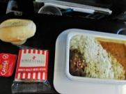 Vliegtuig maaltijd Qantas