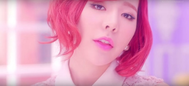 Girl's Generation Sunny Lionheart Inspired Makeup Tutorial (6)