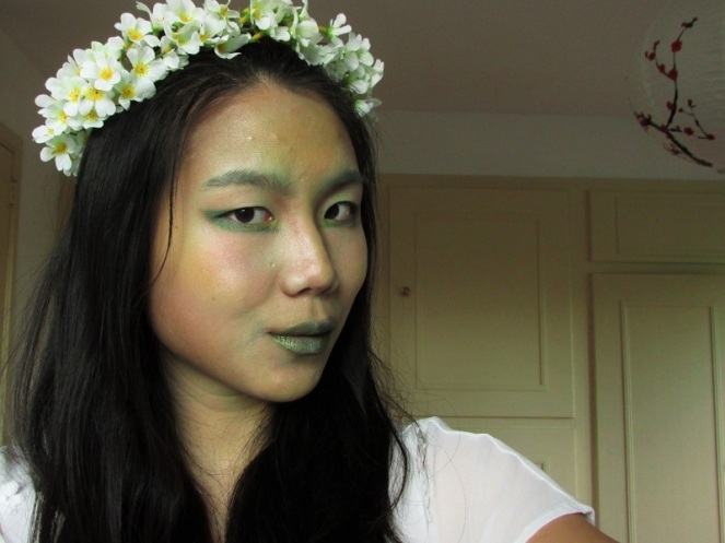 Forest Nymph Halloween Tutorial (1)
