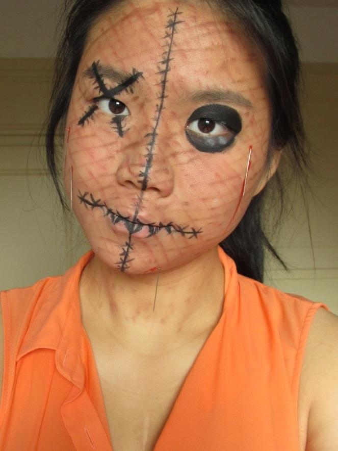Halloween Tutorial Human Voodoo Doll (1)