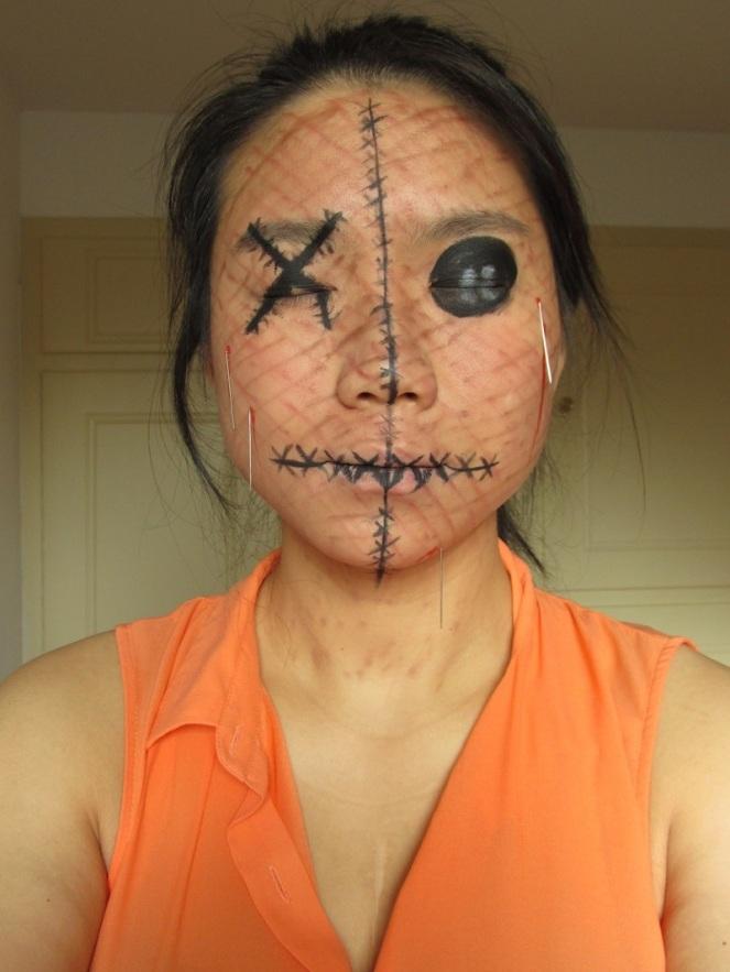 Halloween Tutorial Human Voodoo Doll (2)