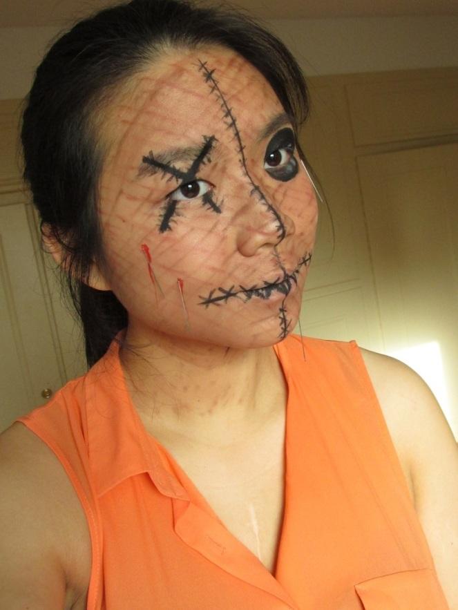 Halloween Tutorial Human Voodoo Doll (3)
