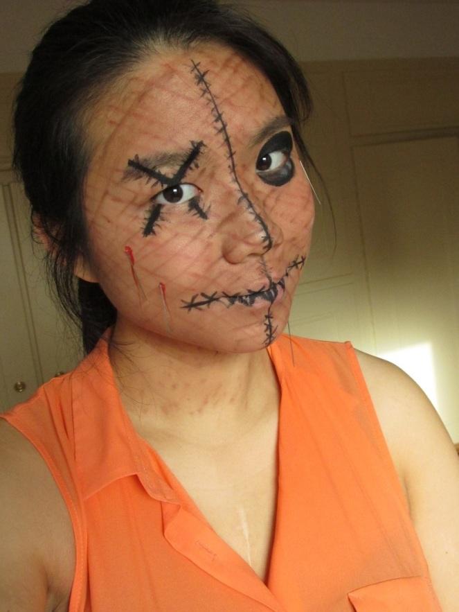 Halloween Tutorial Human Voodoo Doll (4)